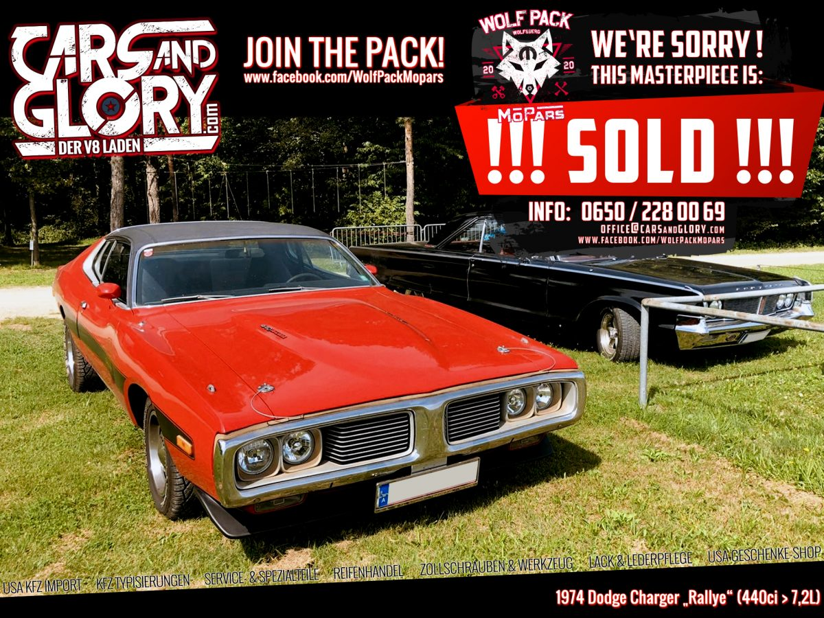 """1974 Dodge Charger """"Rallye"""" - Cars and Glory / Import ..."""